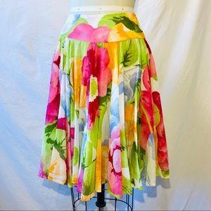 KENZO double circle skirt.